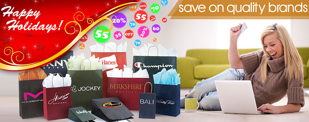 Save on quality brands Holiday