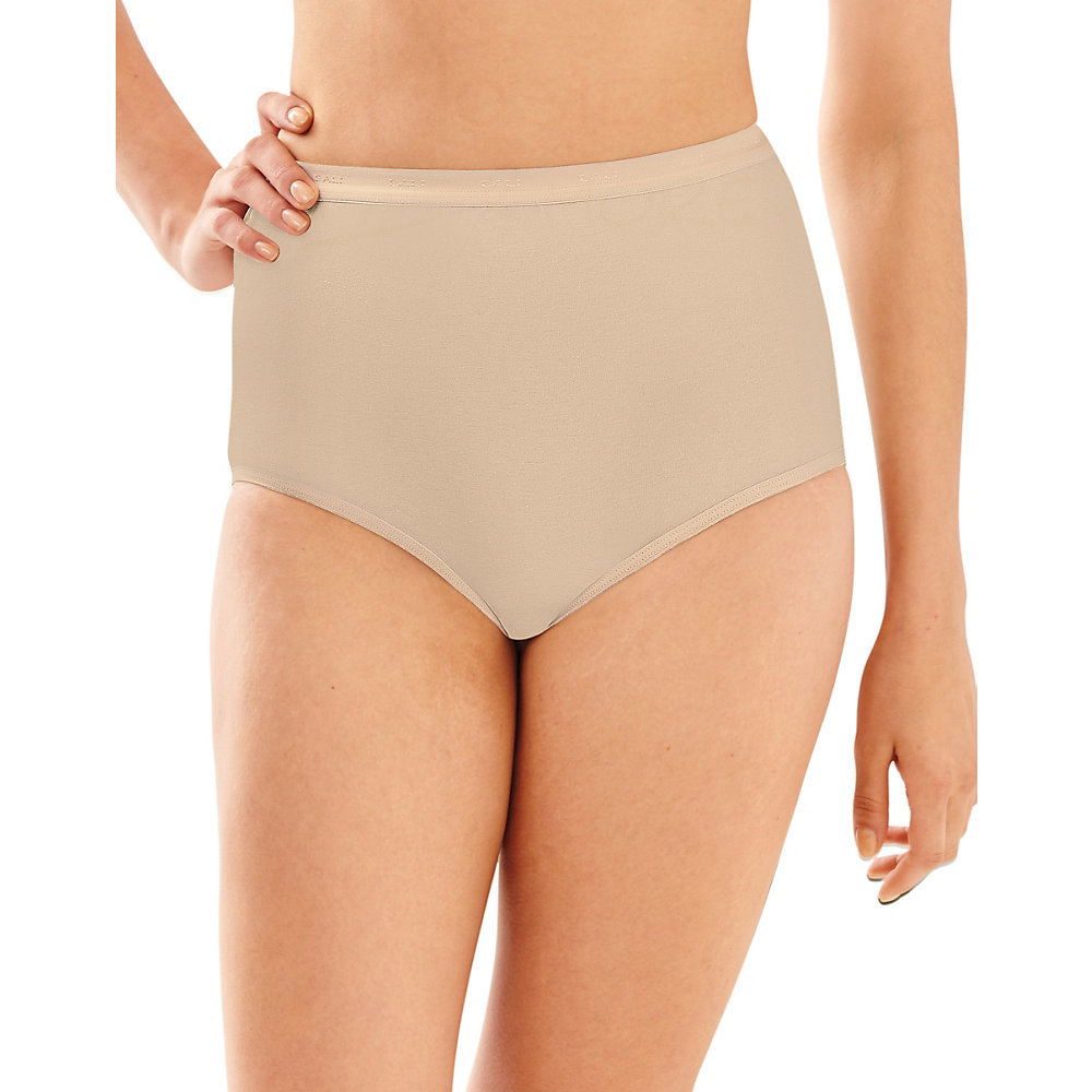 Bali Full-Cut-Fit Stretch Cotton Brief 2324 [$4.25] | Hosiery and More