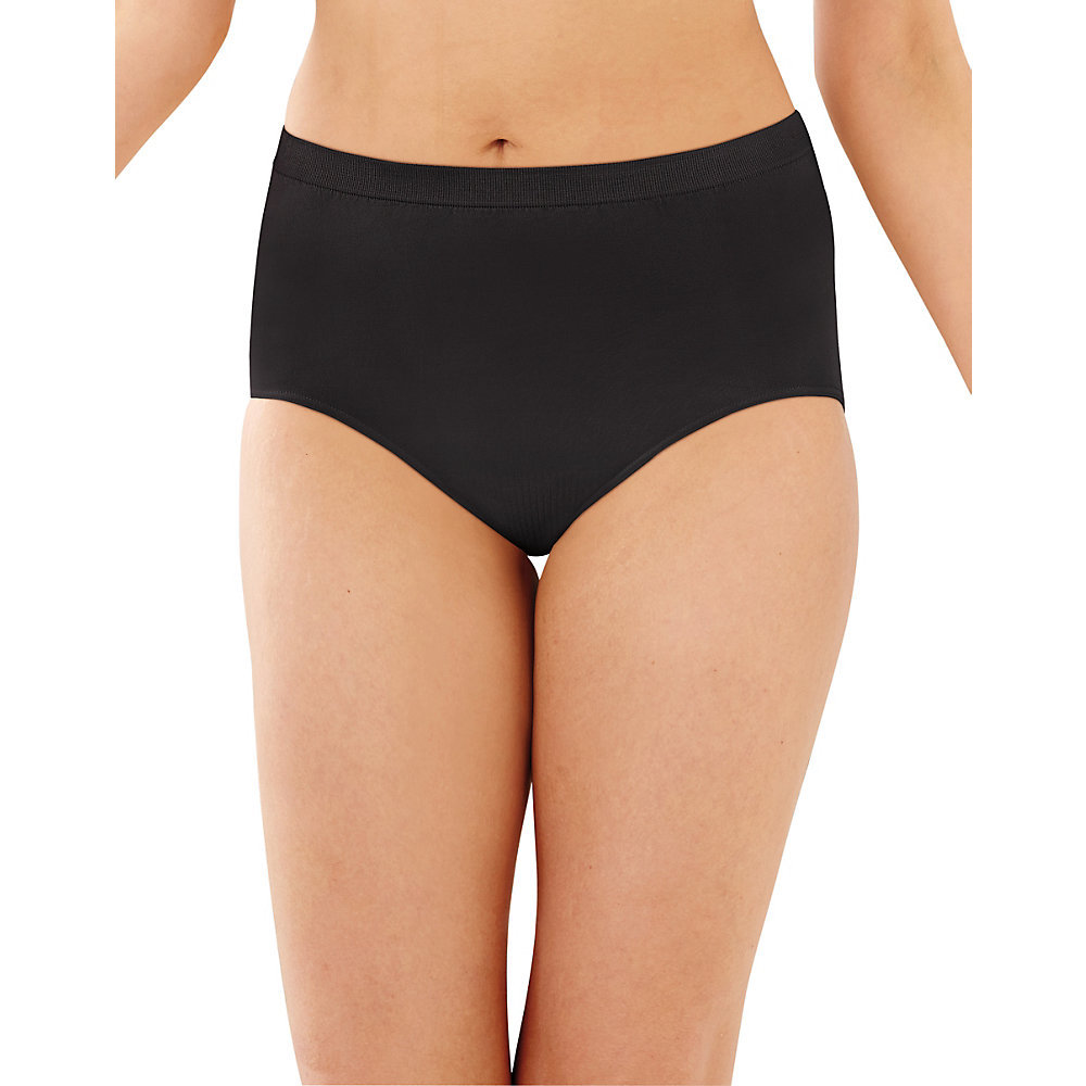 a29a38f7b Barely There by Bali Comfort Revolution Microfiber Seamless Brief 803J.  enlarge Enlarge image  disable zoom Disable zoom enable zoom Enable zoom.  Black ...