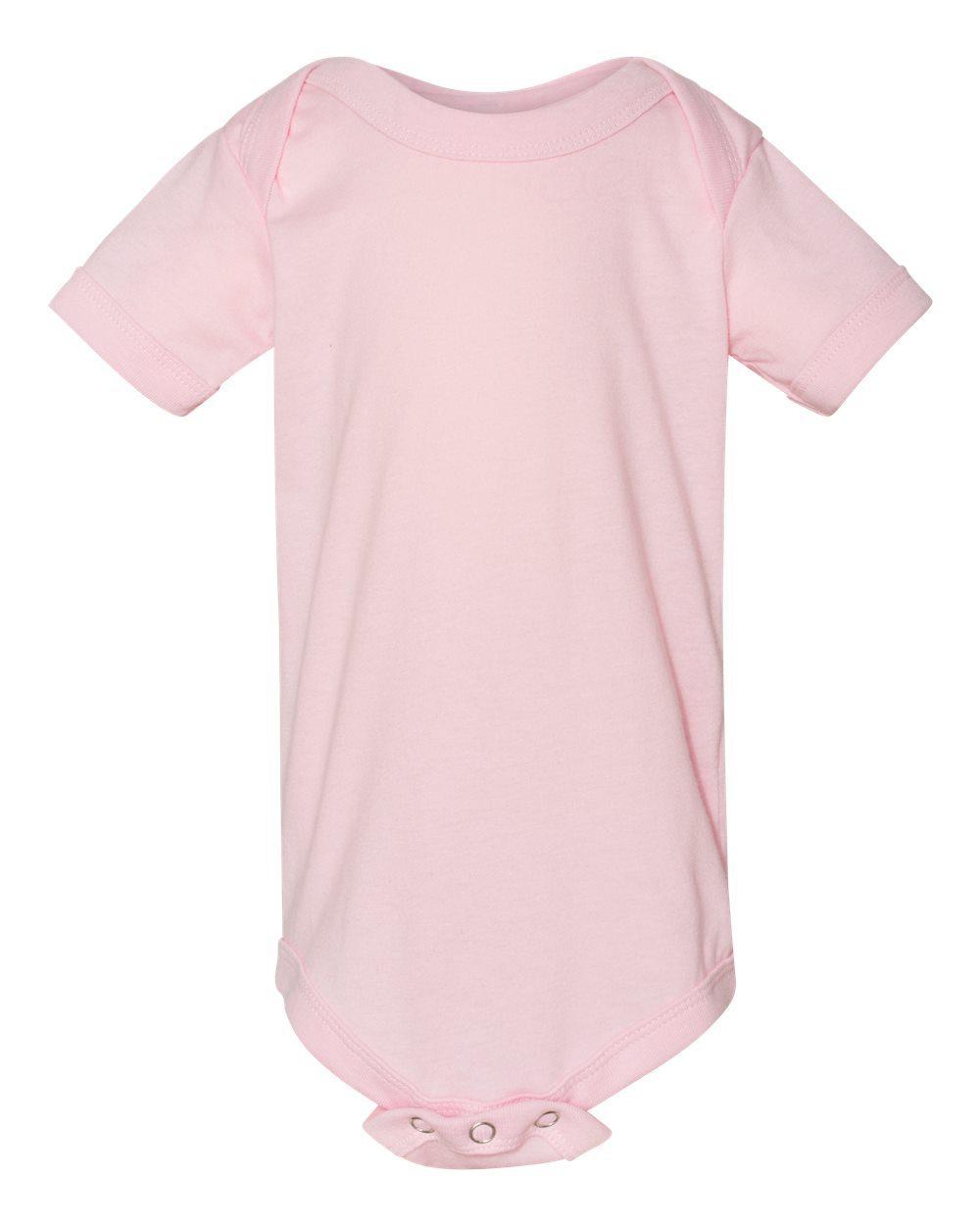 9e7644c41 Bella + Canvas Baby Short Sleeve Onesie 100B [from $8.03] | Hosiery ...