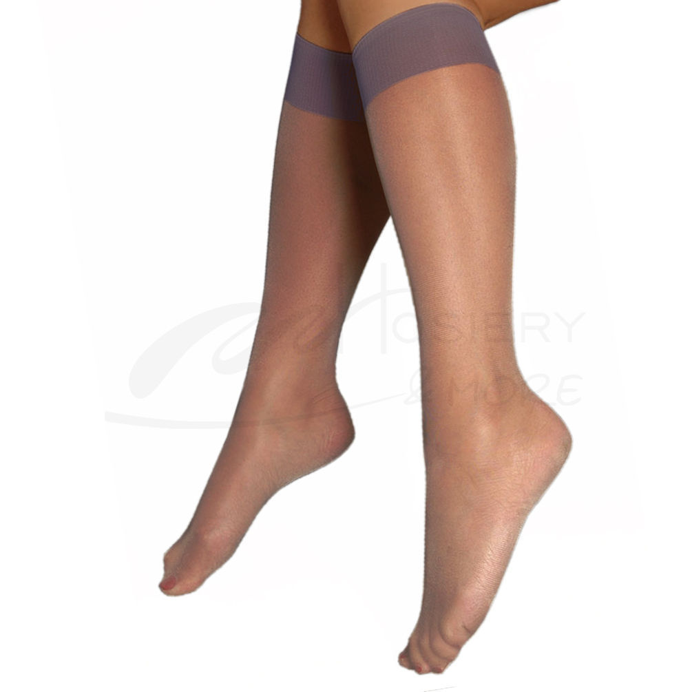 bcacaeb5946d2 Berkshire Womens Plus-Size Queen Ultra Sheer Knee High Pantyhose ...