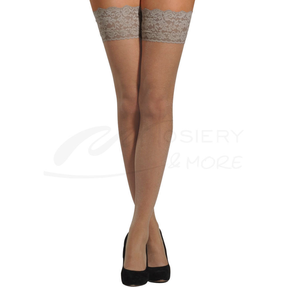 78a414fc7ccc9 Berkshire Womens Plus-Size Shimmers Ultra Sheer Lace Top Thigh High ...
