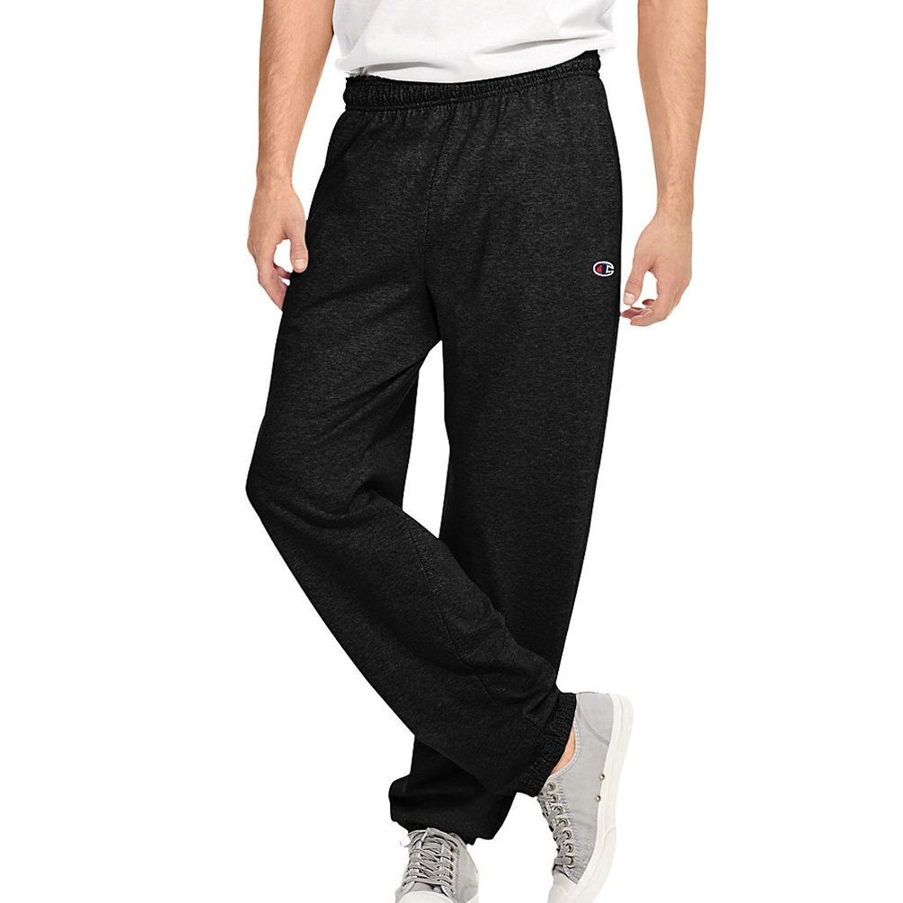 b6bc5cf8cf59 Champion Authentic Mens Closed Bottom Jersey Pants P7310 P7310 ...