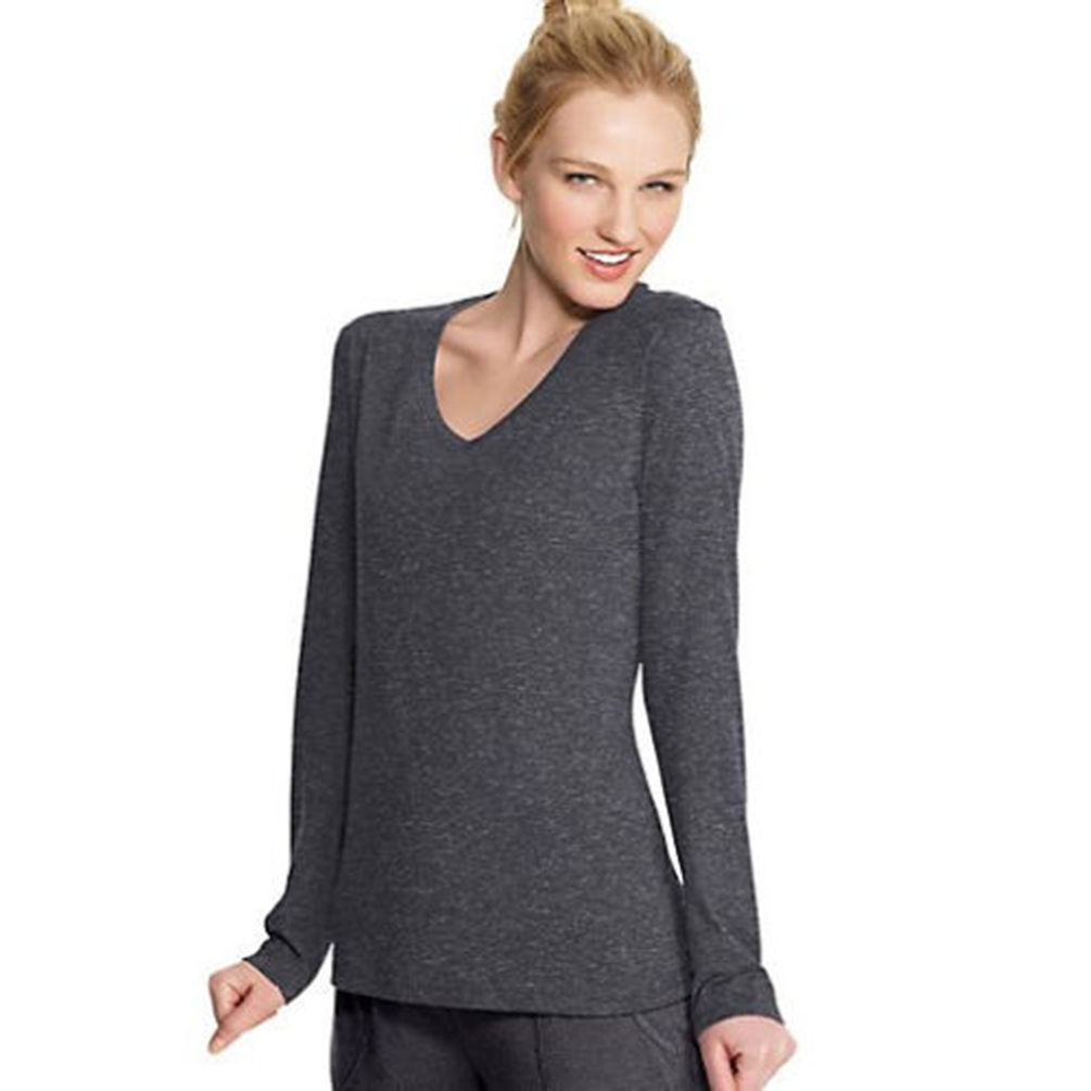 Champion Authentic Womens Jersey Long Sleeve Tee Shirt ...