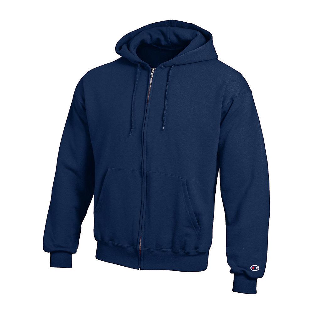 Champion fleece full zip hoodie