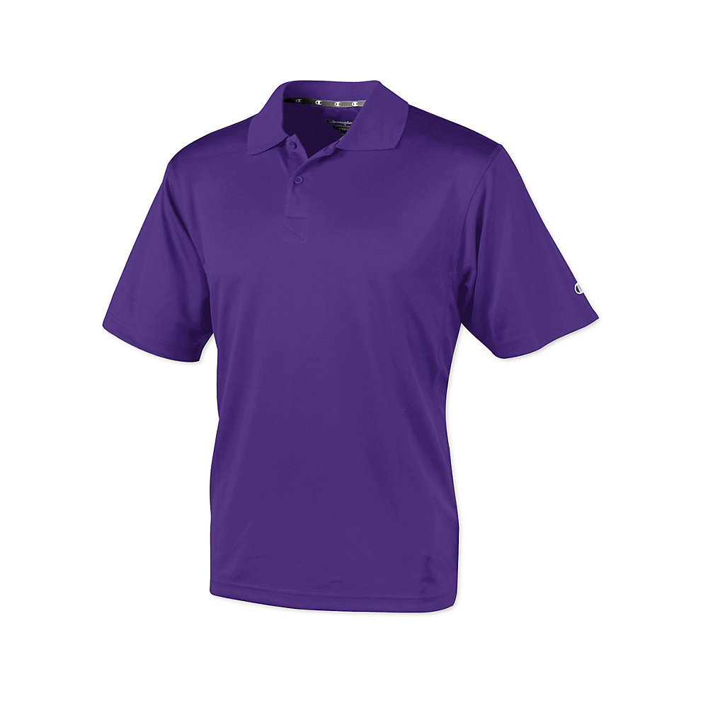 fbfa629a8 Champion Double Dry Mens Solid-Color Polo Shirt H131  from  19.31 ...