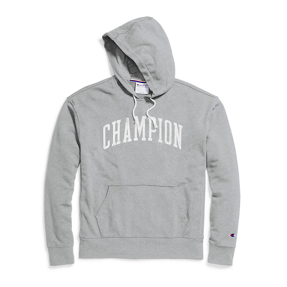 5d77c24b2 Champion Men's Heritage French Terry Pullover Hoodie. Arch Logo S4505 549913