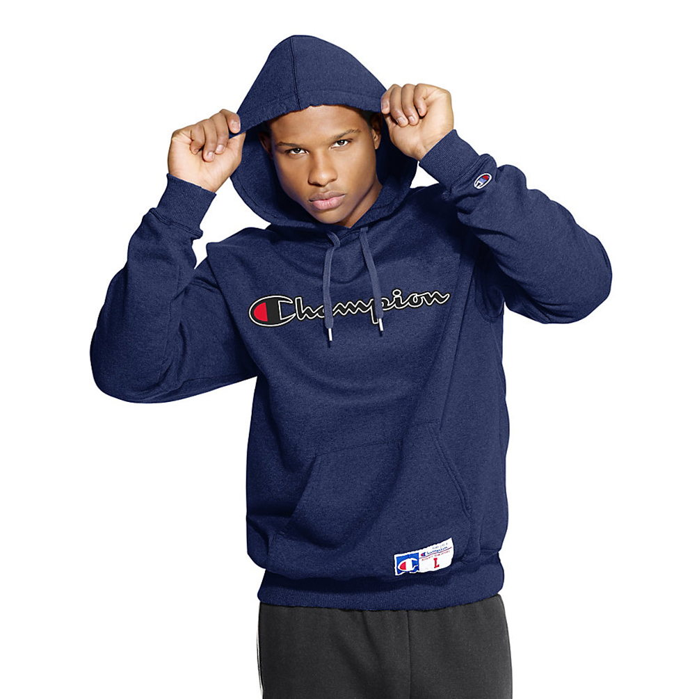 Champion Mens Retro Graphic Pullover Hoodie GF53 [$20.88 ...