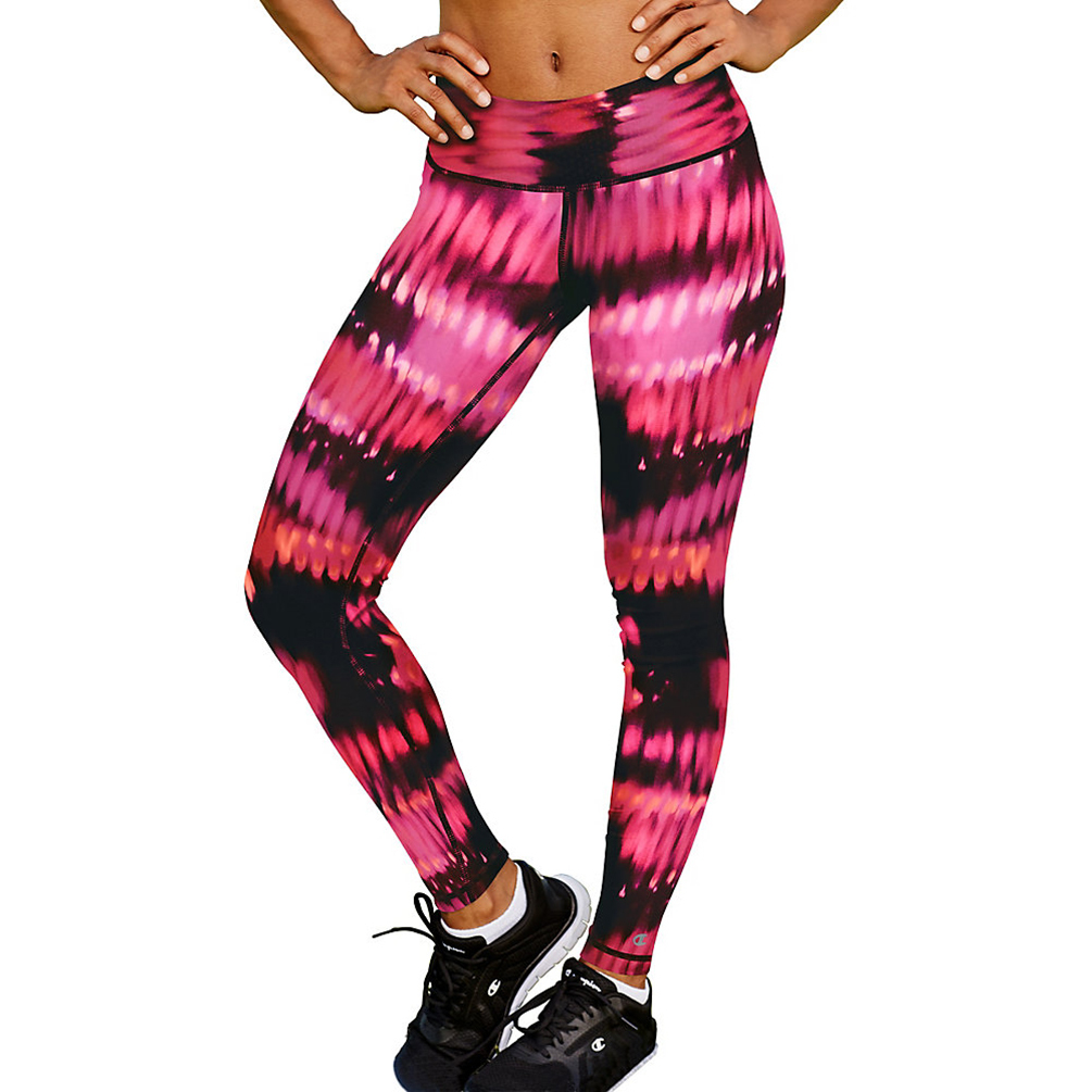 Champion Womens Absolute Printed Tights With SmoothTec Band M0130P ...