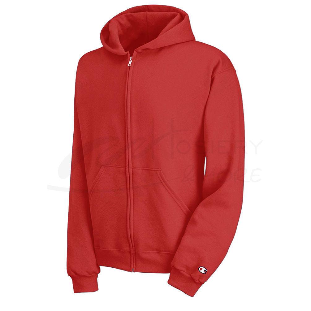 Champion Youth Double Dry Action Fleece Full Zip Hoodie S890 ...