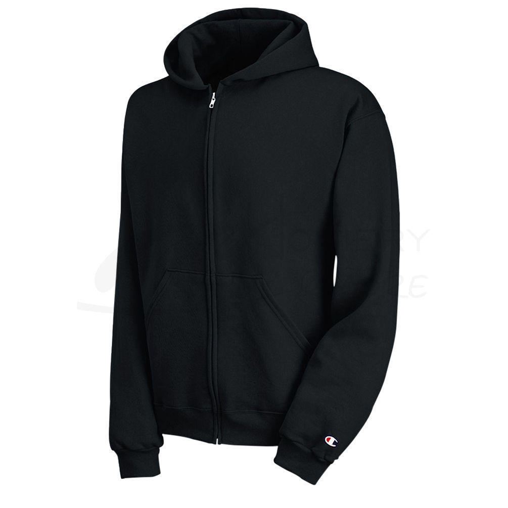 d1bb3787 Champion Youth Double Dry Action Fleece Full Zip Hoodie S890 [$20.25] |  Hosiery and More