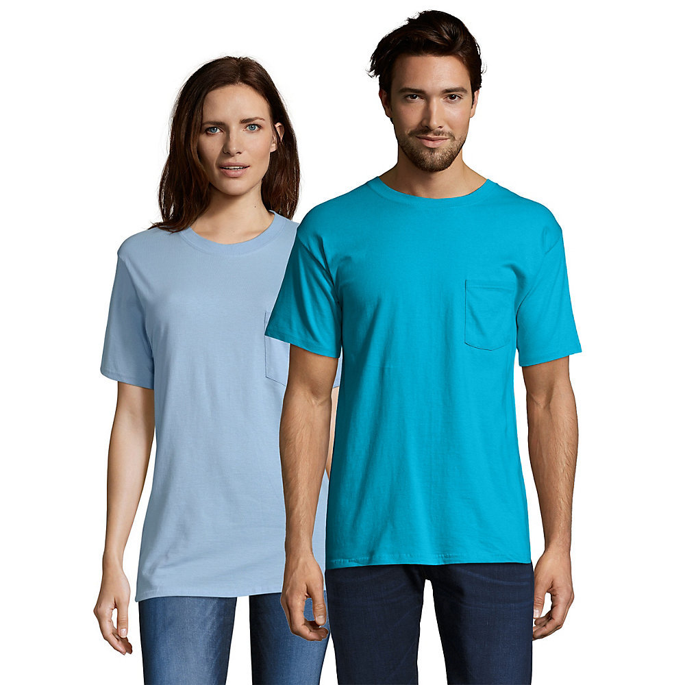 Hanes beefy t adult pocket t shirt 5190 from for Hanes beefy t custom shirts