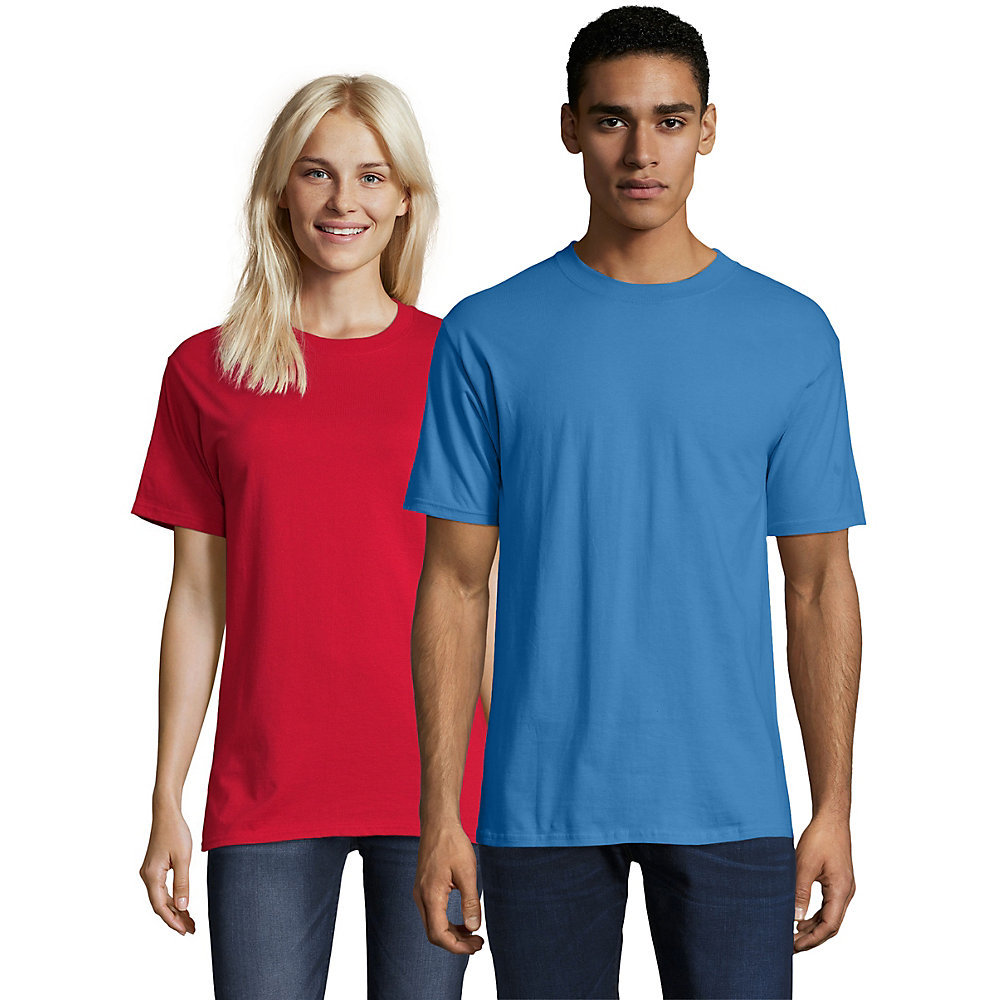 Hanes beefy t adult short sleeve t shirt 5180 from for Hanes beefy t custom shirts
