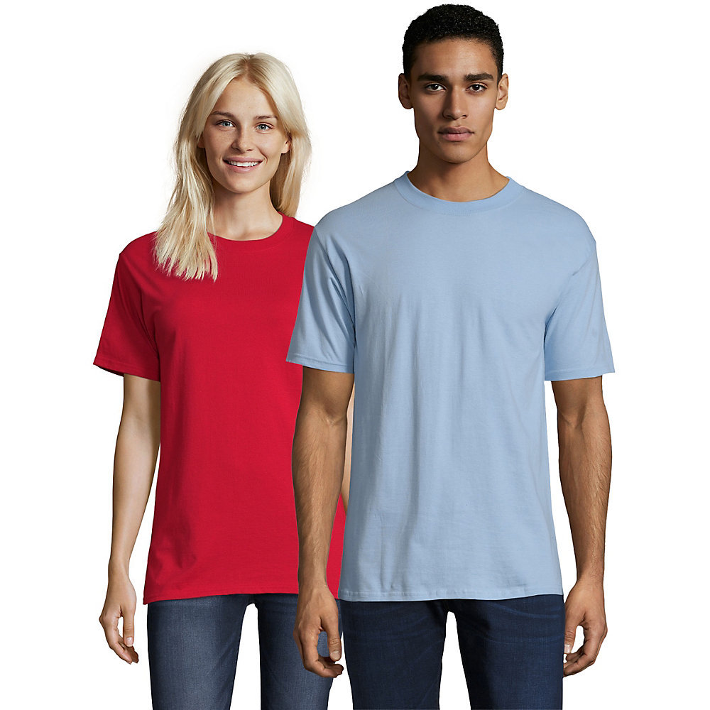 Hanes beefy t adult short sleeve t shirt 5180 from for Hanes 5180 beefy t t shirt