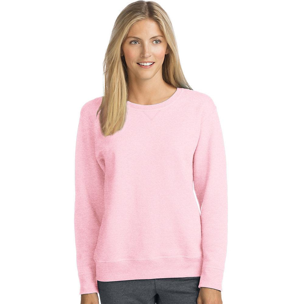 Hanes ComfortSoft EcoSmart Womens Crewneck Sweatshirt O4633 [$7.05 ...