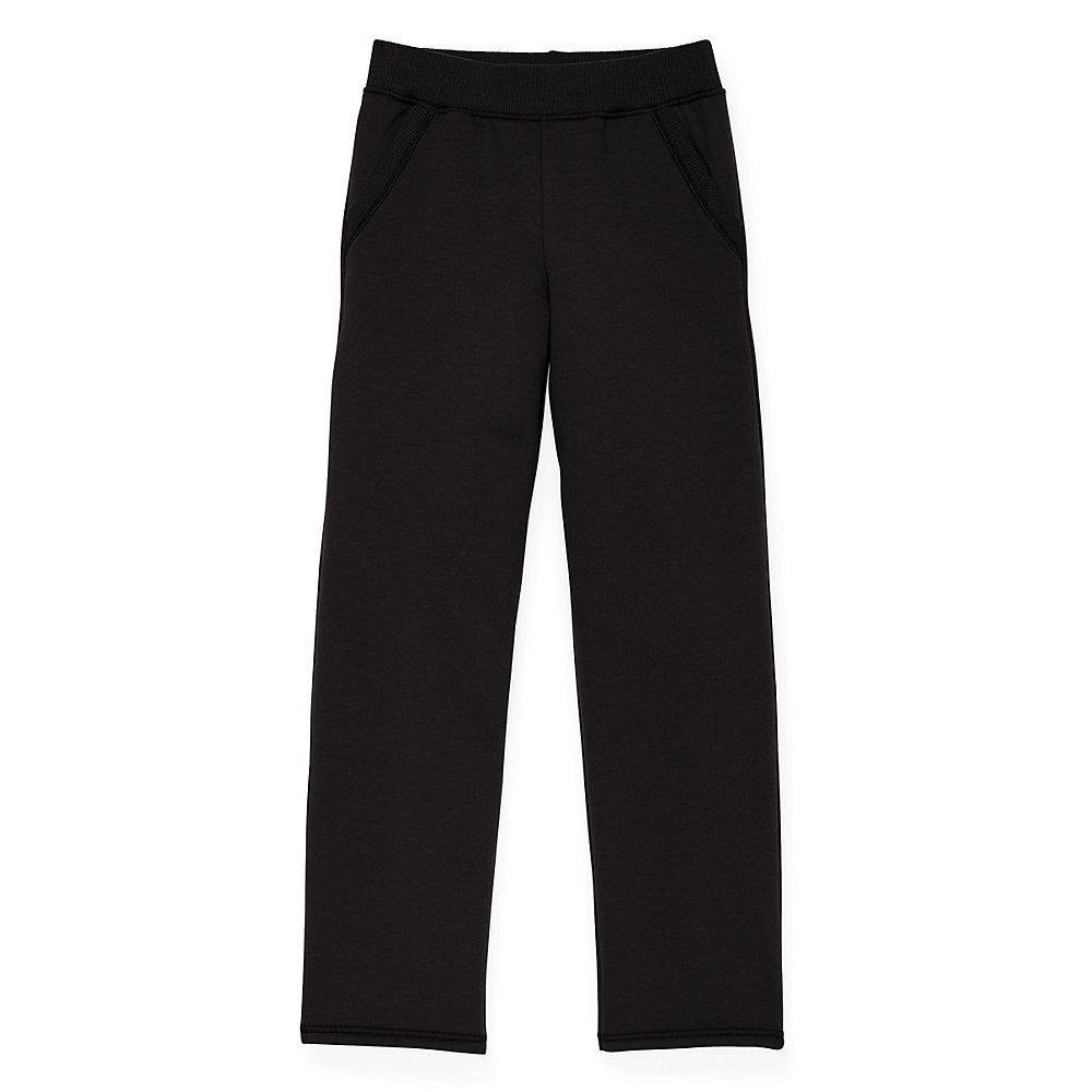 55816ee1098d4d Hanes Girls Fleece Open Leg Sweatpants with Pockets K377 [$7.93 ...