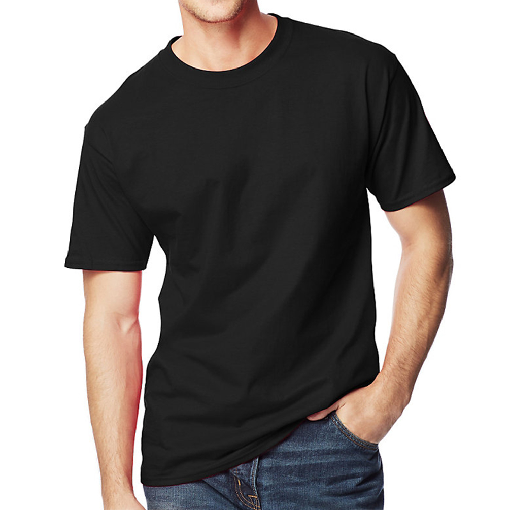 Hanes mens beefy t tall t shirt 518t hosiery and for Hanes beefy t custom shirts