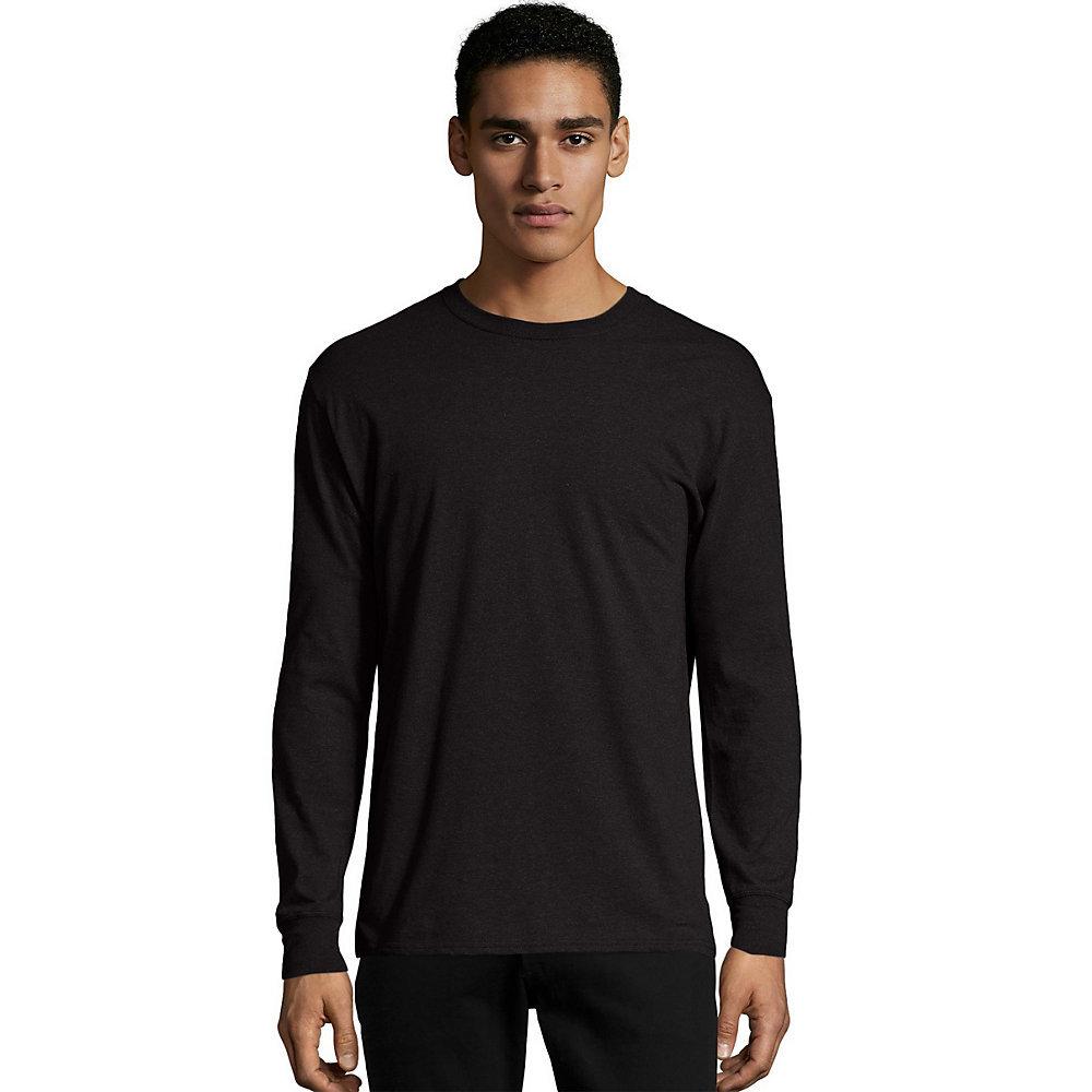 Black t shirt hanes - Ebony Ebony