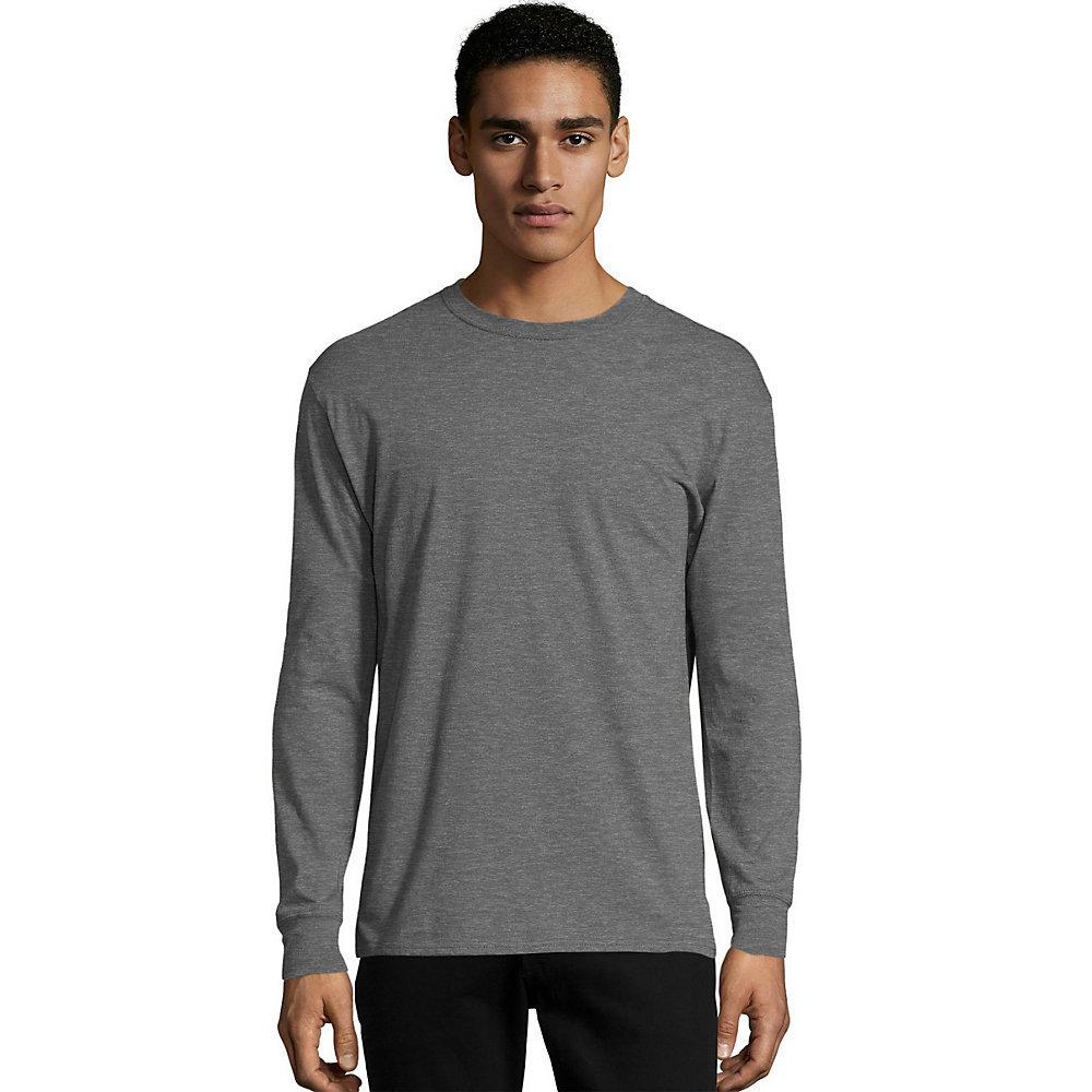 203dae85 Hanes Mens X Temp Long Sleeve T Shirt