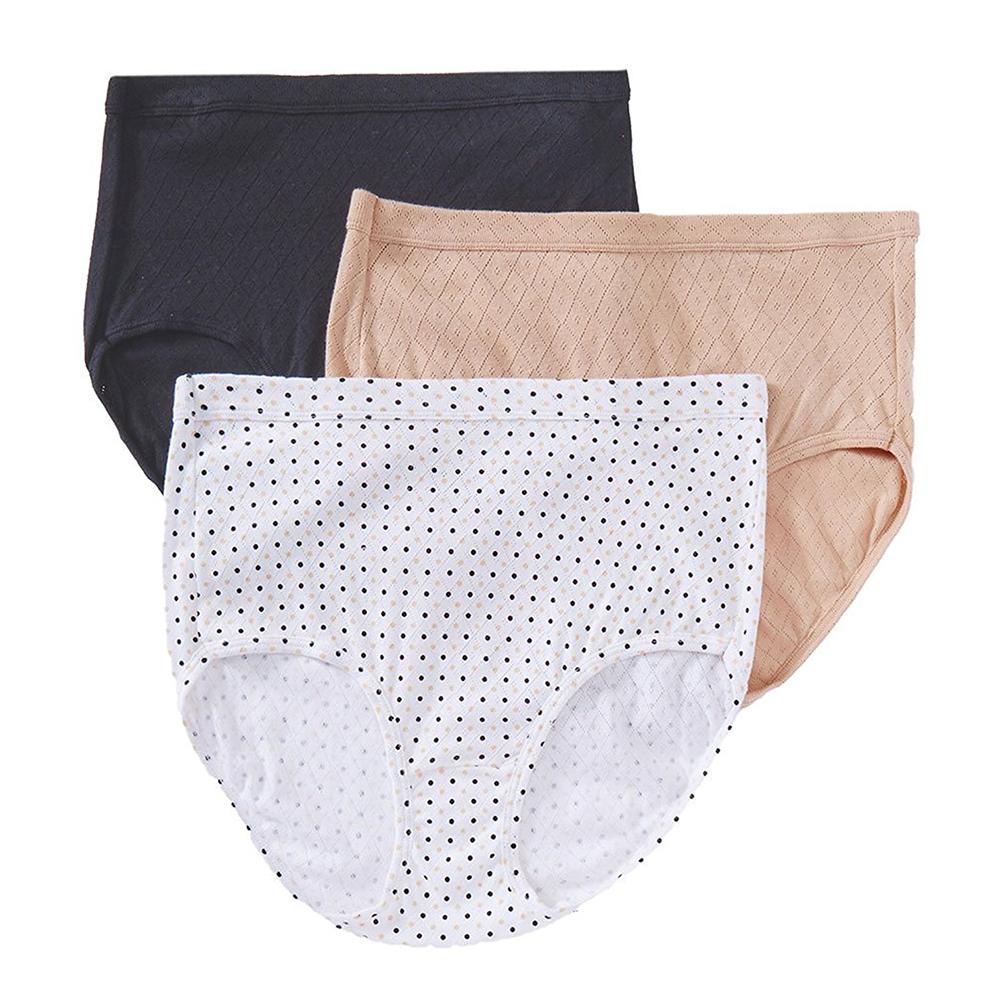 Jockey Womens Underwear Elance Breathe Brief 3 Pack 1542