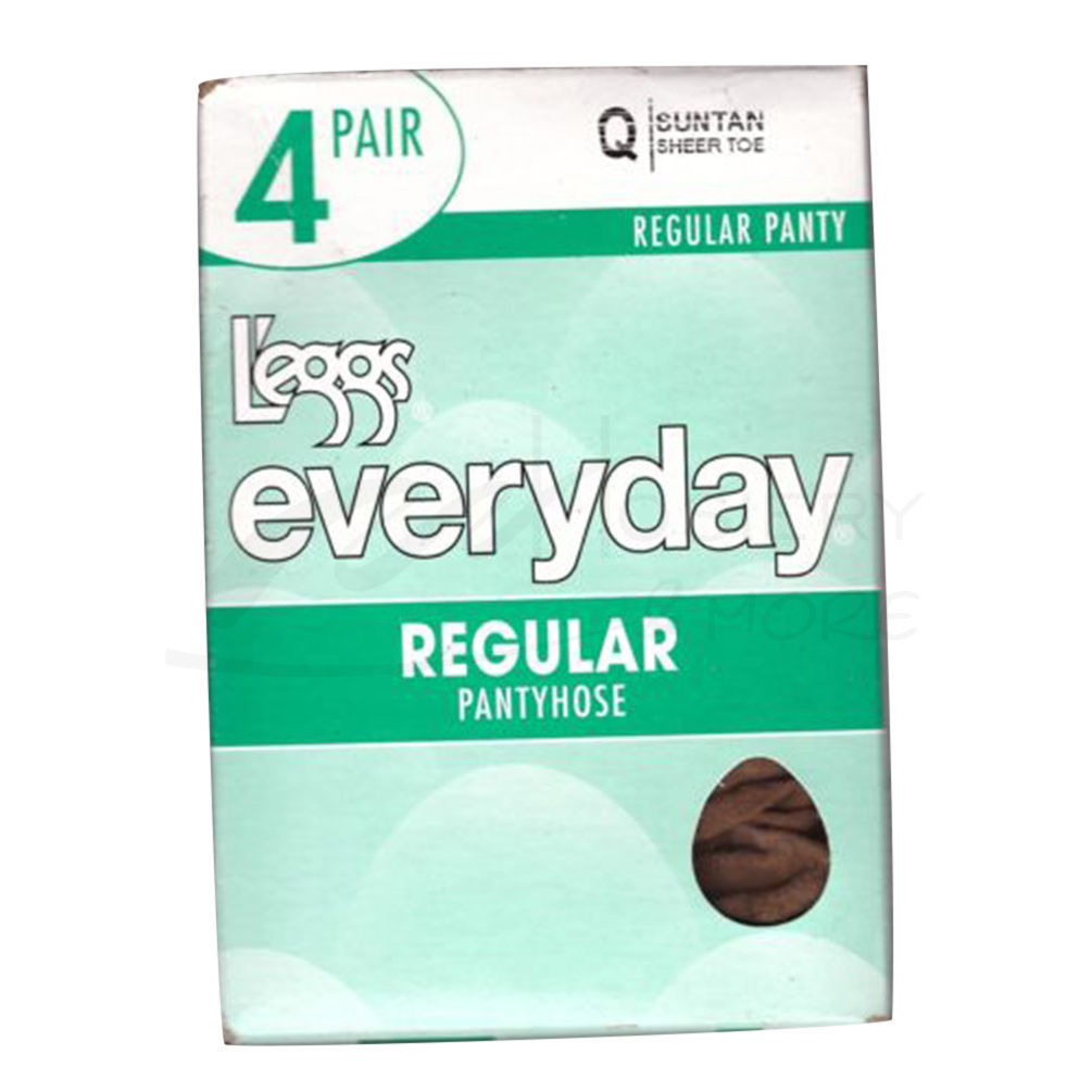 c4d1453f27d Leggs Everyday Regular ST 4-Pk Pantyhose 39500 J95   8.55