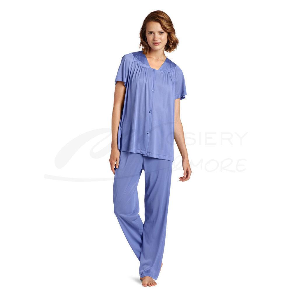 Vanity Fair Womens Plus Size Coloratura Sleepwear Short Sleeve ...
