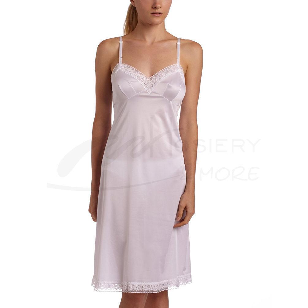 Vanity Fair Womens Rosette Lace Full Slip 10103 [$20.40] | Hosiery ...