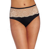 Bali One Smooth U Comfort Indulgence Satin with Lace Hipster 2783