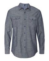 Burnside Chambray Long Sleeve Shirt 8255