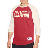 Champion Men Heritage Baseball Slub Tee T1234