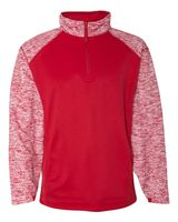 Badger Blend Sport Performance Fleece Quarter-Zip Pullover 1487
