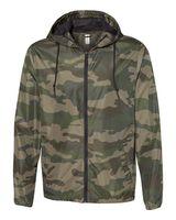 Independent Trading Co. Light Weight Windbreaker Zip Jacket EXP54LWZ
