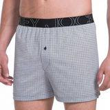 Jockey Mens Active Blend Knit Boxer 4 Pack 9013