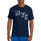 Champion Men's Jersey Tee, NYC Staircase GT280 Y07034