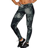 Champion Womens Absolute Printed Tights With SmoothTec Band M0130P