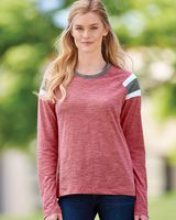 Augusta Sportswear Women's Long Sleeve Fanatic T-Shirt 3012