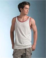 MV Sport Heather Ringer Tank 16407