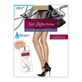 Hanes Silk Reflections Pantyhose Sheer Liner 2 Pack Q00721