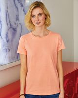 Hanes ComfortSoft® Tagless® Women's Short Sleeve T-Shirt 5680