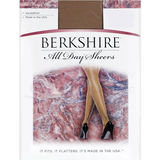Berkshire All Day Sheer Non-Control Top Pantyhose - Sandalfoot 4402