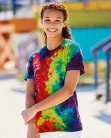 Dyenomite Slushie Crinkle Tie Dye T-Shirt 640VR