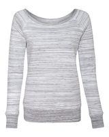 Bella + Canvas Women's Sponge Fleece Wideneck Sweatshirt 7501