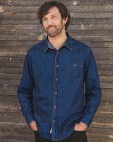 Weatherproof Vintage Denim Long Sleeve Shirt 154695