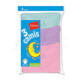 Hanes TV30AS Toddler Girls Assorted Camis 3 pair