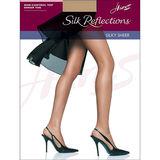 Hanes Silk Reflections Non-Control Top Sheer Toe Pantyhose 715