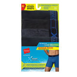 Hanes Men's X-Temp Perfect Stretch poly Boxer Brief Blk/Gry 4-Pack UP9B4B