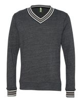 Alternative Eco Cashmere V-Neck Sweathshirt 9594
