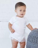 Rabbit Skins Infant Tutu Baby Rib Bodysuit 4422