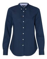 Tommy Hilfiger Women's New England Solid Oxford Shirt 13H4378