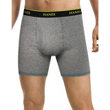 Hanes Men's FreshIQ Cool Comfort Breathable Mesh Boxer Brief 4-Pack LB2396
